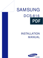 Prostar DCS 816 Installation Manual