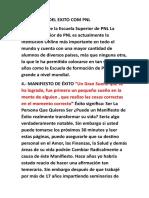 Manifiesto Del Exito Com Pnl (1)