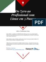 Do Zero Ao Profissional Com Linux Em 3 Passos