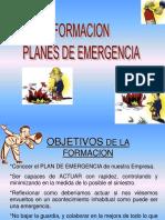 Formaciòn en Planes de Emergencias