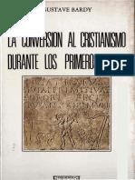 La Conversion Al Cristianismo Durante Los Primeros Siglos 1