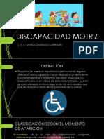 3.DISCAPACIDAD MOTRIZ