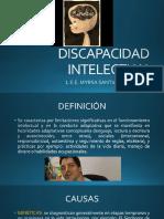 7. Discapacidad Intelectual