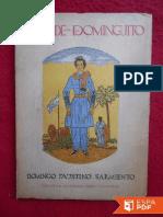 La Vida de Dominguito - Domingo Faustino Sarmiento