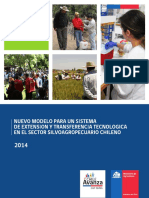 Nuevo Modelo Para Un Sistema de Extensión y Transferencia Tecnológica en El Sector Silvoagropecuario Chileno