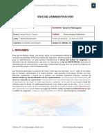 Farmacología, Administración de Medicamentos, Abril 2018