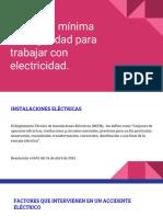 Distancia Mínima de Seguridad Para Trabajar Con Electricidad