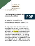 Evangelii Gaudium - La Parroquia