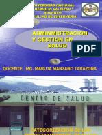 3.-Categorizacion en Salud 2013