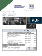 0010210, LIVISTO S.a C.v.,Modificación de Infraestructura Interna en Área de Fabricación Liquidos Orales