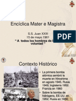 enciclica-mater-e-magistra.ppt