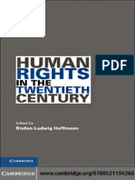 Stefan-Ludwig Hoffmann-Human Rights in the Twentieth Century (Human Rights in History) -Cambridge University Press (2010)