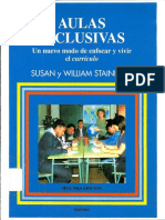 Aulas Inclusivas - Susan y William Stainback