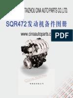 Chery SQR472 Engine Parts Catalog