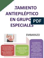 Tratamiento Antiepiléptico en Grupos Especiales