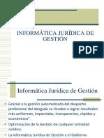 Informática Jurídica de Gestión (1)