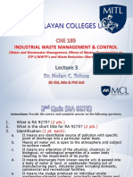 CHE185 Lecture Week 3-Water and Wastewater Mngt-rev
