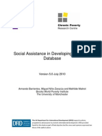 Social Assistance in Developing Countries Database version 5.0