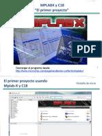MPLABX El Primer Proyecto