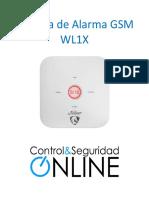 Alarma Gsm Wl1x