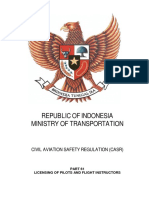 CASR Part 61 Amdt. 4 - Licensing of Pilots & Flight Instructors