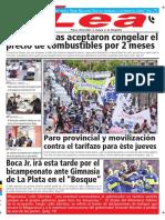 Periódico Lea Miércoles 09 de Mayo Del 2018