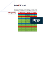 Ejercicio Día 1 - Formato Condicional en Excel Para Una Fila
