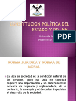 Constitución y Dd. Hh. 2016 II