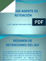 Régimen de Retenciones Del Igv 626