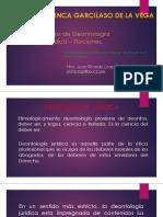 2- Nociones - Deontología Jurídica - 2018-1