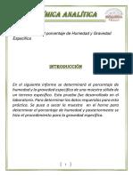 Determinación del porcentaje de Humedad y Gravedad Especifica.docx