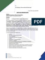 Carta de Presentación - Villa Maria Del Triunfo