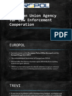 European Union Agency for Law Enforcement Cooperation