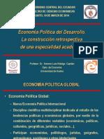 Economia Politica Del Desarrollo Presentacion