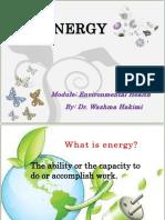 Energy by Dr. Wazhma Hakimi