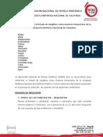 Convocatoria Músicos Temporales OSNC 2017