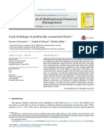 Cash holdings of politically connected firms.pdf