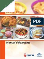 Manual Docente Pasteleria