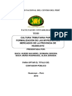Tesis Nacional - Cultura Trib. Para Mypes
