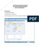 SLA Oracle Order Management Distribution.doc