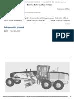 16M Motor Grader B9H00001-UP (MACHINE) POWERED by C13 Engine(SEBP4108 - 102) - Sistemas y Componentes