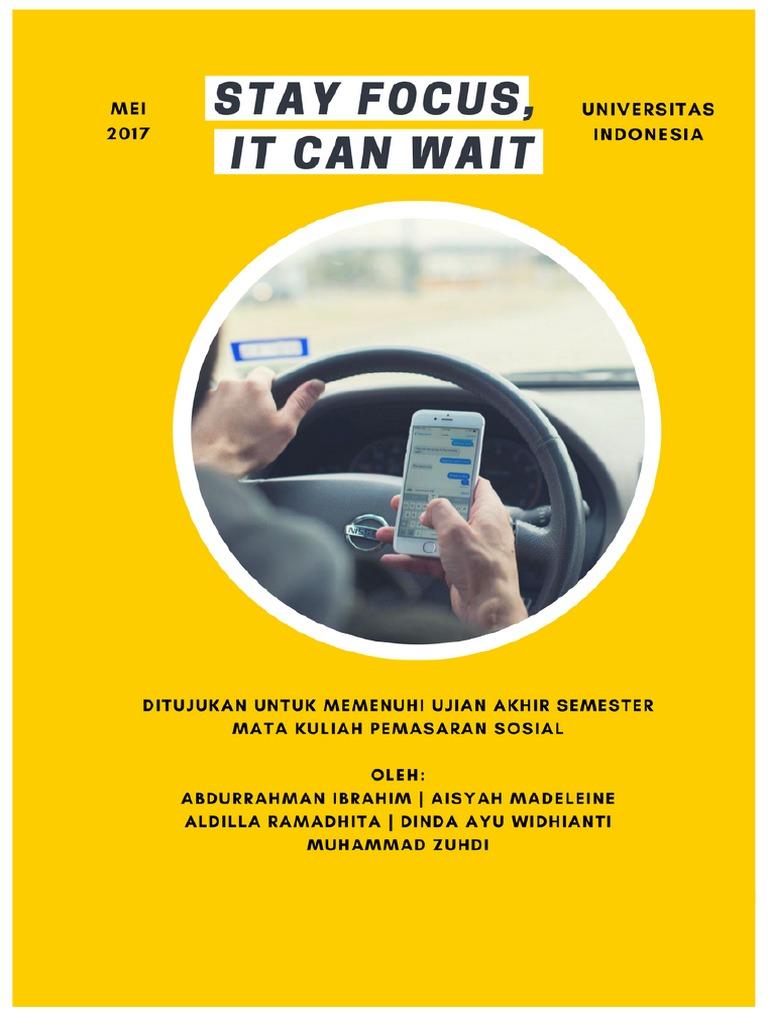 Proposal Pemasaran Sosial Safe Driving