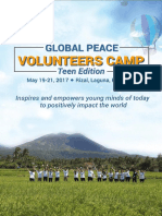 GPVCamp 2017 Packet Filipino Participant
