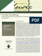 Circular Breathing Jornal
