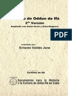 Tratado de Odun de Ifa 2da Version Ampliada Con Ishe Osain y Eshu Eleguara