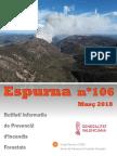 Espurna Butlletí informatiu de Prevenció dIncendis Forestals  Març 2018