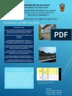 Cartel Salud en La Comunidad IV. RBL