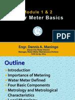 Module 1 and 2 - Intro & Meter Basics 2014
