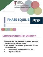 Revision Phase Equilibrium