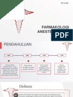 Farmakologi Anestesi Lokal